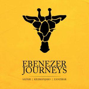 EBENEZER logo design yellow