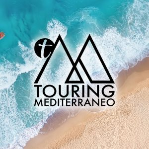 TOURING MEDITERRANEO logo design