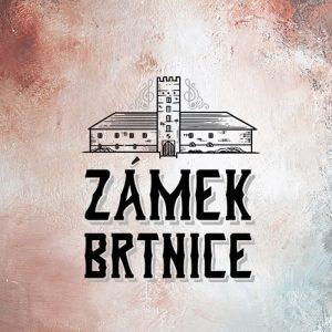 ZÁMEK BRTNICE logo design wall